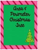 Area & Perimeter Christmas Tree