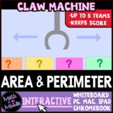 Area, Perimeter, & Circumference Claw Machine Interactive