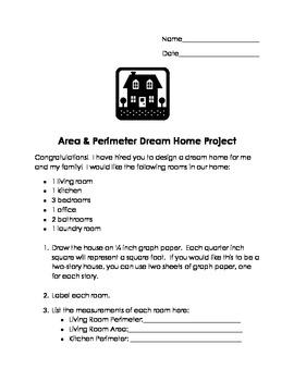 Area & Perimeter Dream Home Project