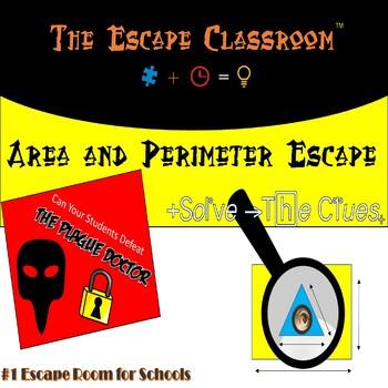 Area & Perimeter Escape Room | The Escape Classroom