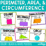 Area and Perimeter Formulas