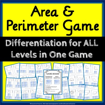 Area and Perimeter Game: A Differentiated Game for Area &