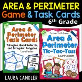 Area and Perimeter Game CCSS Bundle