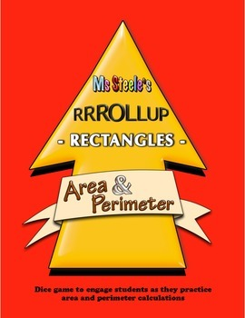 Roll Up Rectangles - Area and Perimeter Co-operative Game