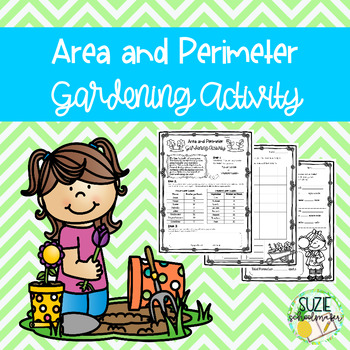 Area & Perimeter Gardening Activity