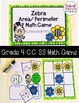 Area/ Perimeter Grade 4 Math Game CCSS