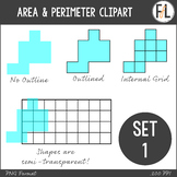Area & Perimeter Clipart