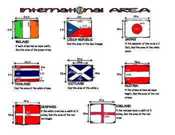 Area &  Perimeter - INTERNATIONAL