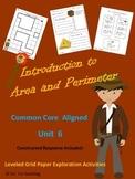 Area & Perimeter Introduction Activity