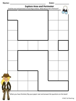 Area & Perimeter Introduction Activity