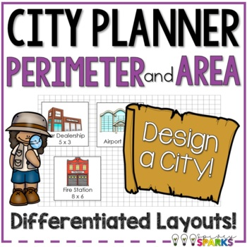 Area & Perimeter Map of City Planning {Differentiated}