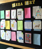 Area & Perimeter Math Art Project