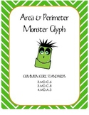 Area & Perimeter Monster Glyph