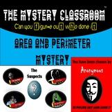 Area & Perimeter Mystery | The Mystery Classroom