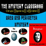 Area & Perimeter Mystery | Mystery Classroom (Pro-Distance Learning)