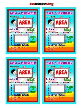 Area & Perimeter Poster/Anchor Chart