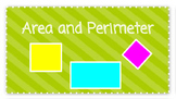 Area & Perimeter Powerpoint & Activity