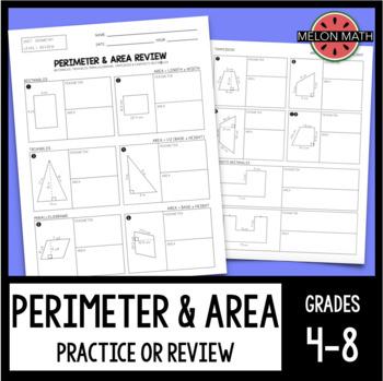 Area & Perimeter Practice
