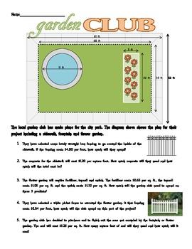 Area &  Perimeter - REALITY check
