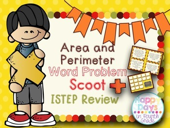 Area & Perimeter Scoot {ISTEP Review}