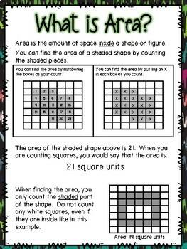 Area & Perimeter Small Group Lesson
