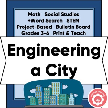 Engineering A City: Area, Perimeter, Social Studies, STEM