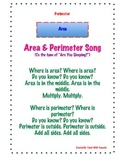 Area & Perimeter Song for Rectangles and Squares