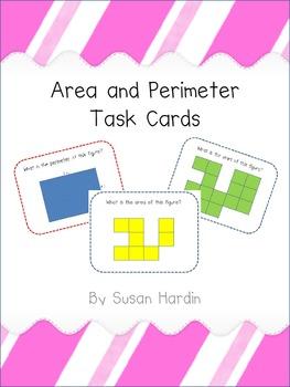 Area & Perimeter Task Cards