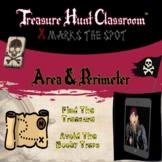 Area & Perimeter   Treasure Hunt Classroom