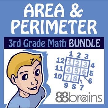 Area & Perimeter Bundle (CCSS)