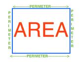 Area-Perimeter Visual
