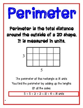 Area & Perimeter Vocabulary, Practice & Word Problems