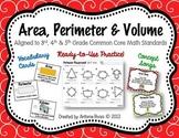 Area, Perimeter & Volume