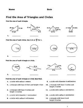Measure Area, Perimeter, and Volume