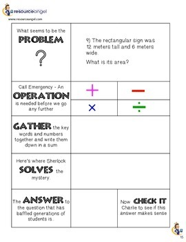 Area & Perimeter Word Problems