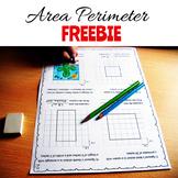 Area Perimeter Worksheets FREE!