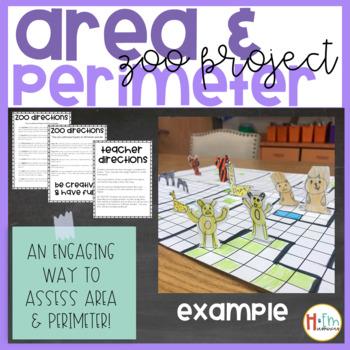 Area & Perimeter Zoo Project
