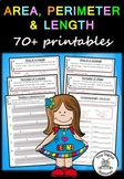 Area, Perimeter and Length – 70+ printables