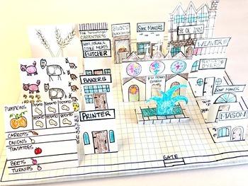 Area, Perimeter and Surface Area - Building a Renaissance Town - Alberta