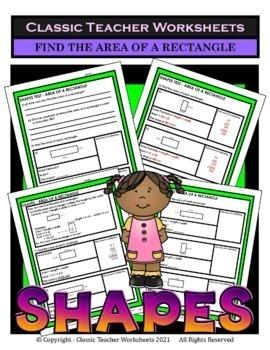 Area, Perimeter, and Volume Bundle - 4th-6th Grade (Grades 4-6)
