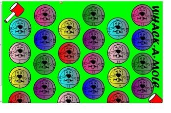 Area, Perimeter, and Volume Game- Whack-A-Mole