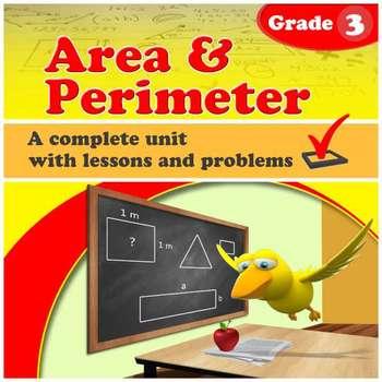 Area & Perimeter - grade 3 common core