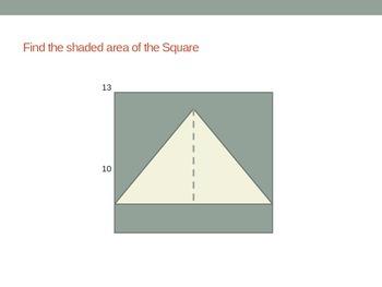 Area & Perimeter of Complex Figures