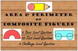 Area & Perimeter of Composite Figure Practice