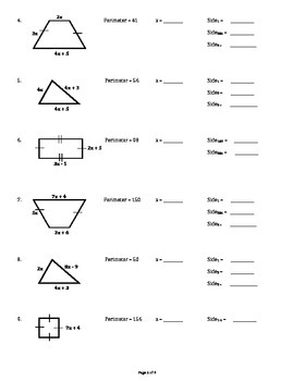 Area & Perimeter of Composite Shapes
