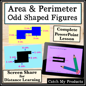 Area and Perimeter of Irregular Shaped Polygons Power Point