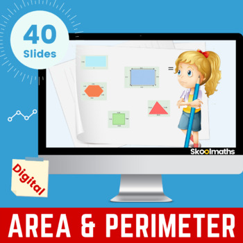 Area & Perimeter of Rectilinear Shapes - Grade 3, Year 4, Key stage 2