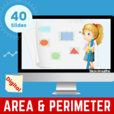 Area & Perimeter of Rectilinear Shapes - Grade 3, Year 4,