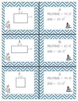 Area & Perimeter with 2 digit x 1 digit multiplication