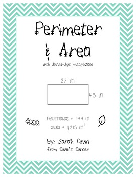 Area & Perimeter with Double Digit Multiplication